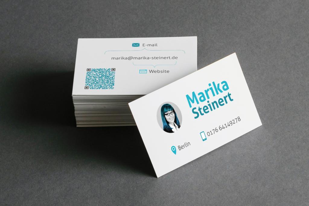 Visitenkarte mockup